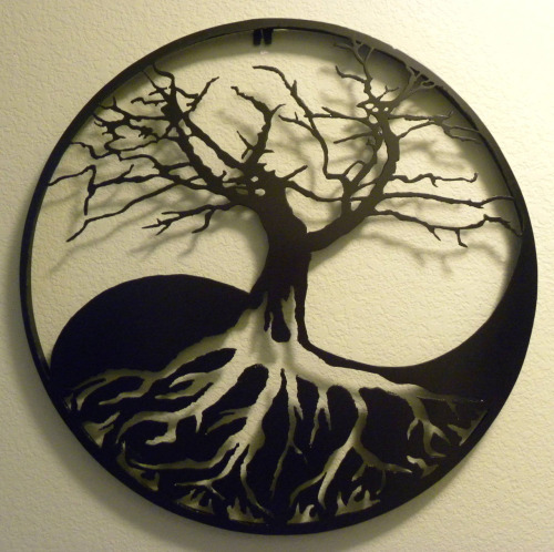 inallthingsbalance:  Yin/Yang Tree of Life Wall Art