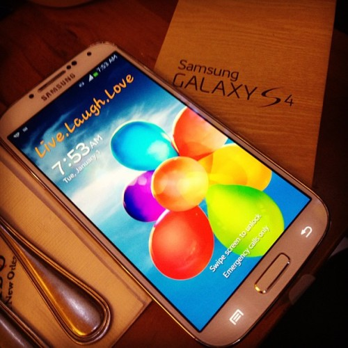 Switched!😁😊😱😛 #galaxyS4 #samsung #newphone