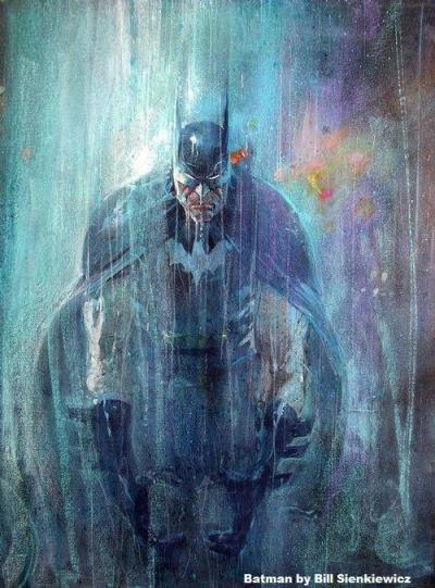thedailypop:  Batman by Bill Sienkiewicz