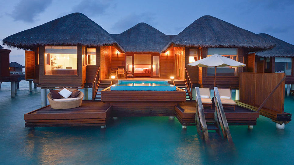Escape to Kaafu Atoll, Maldives (via Ocean Bungalow : Daily Escape : Travel Channel)
