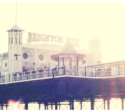 therenostudio:  Pier. Brighton, Uk.