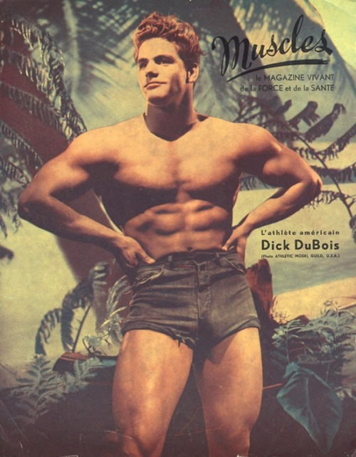 theniftyfifties:  Dick Dubois - Mr America, 1954.
