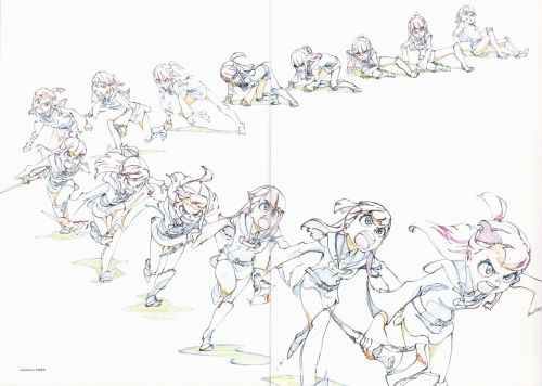 waitnoihatethis:  Little Witch Academia genga by Shūhei Handa