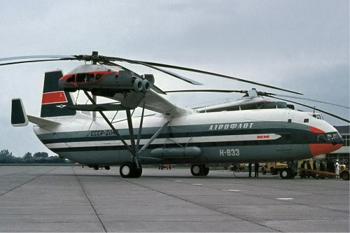 Stuff that Weighs More than Me: A Mil V-12 HelicopterOkay, I think it's safe to say that pretty much any helicopter weighs more than me.  But there are…View Post