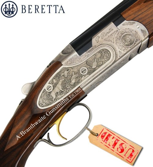 "abgunsmiths:  Used Beretta 687 EL Sport with 32"" barrels. Mint Condition"