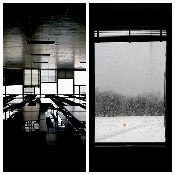 Cafeteria | Snow (at Minerva Deland School)