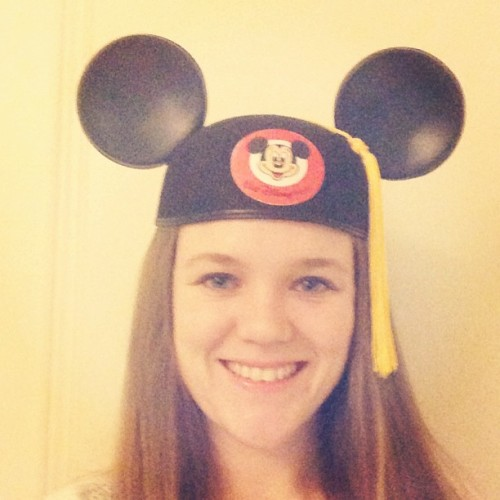 The #MickeyEars help me study!! Only two exams left and 33 days till #disneyworld #countdown #collegeprogram