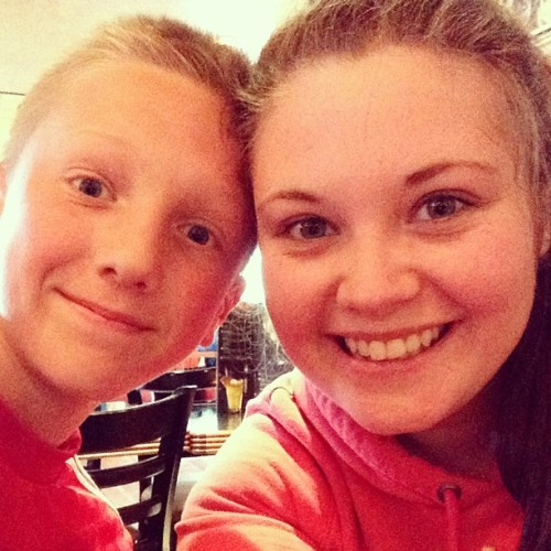 Dinner time with Callum 😘 (at Frankie & Benny's)