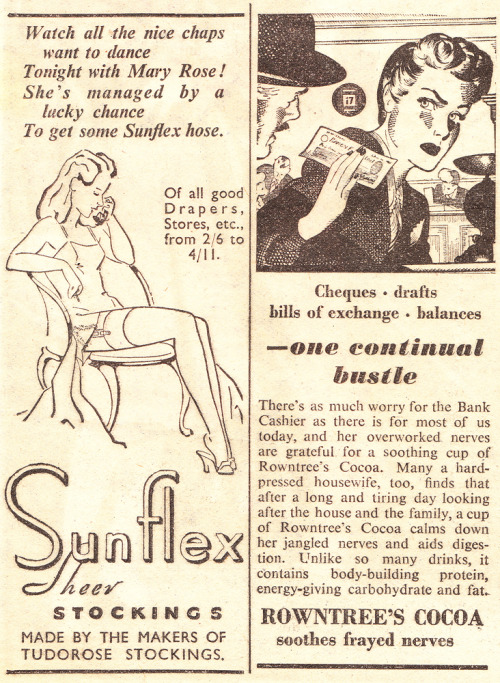 Ads from The Miracle, April 27th 1946. Vintage Scans