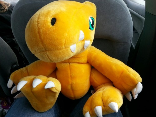 22yearsatthetapend:  I got an agumon! Yes! Was only 50p as well :-)