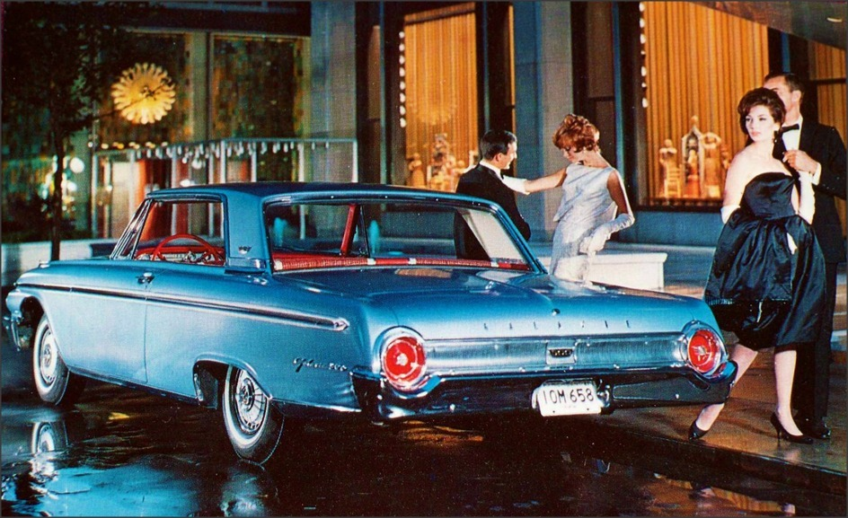 1962 Ford Galaxie 500 ;  Enduring elegance with the power to please