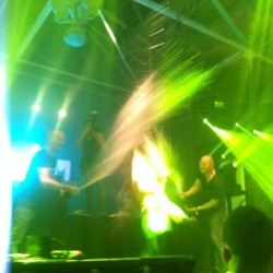 Champagne🎉 @dadalife thanks to @honeydewmeli #frontrow #rage #dadalife #sf #champagne #bananas #kickouttheepicmotherfucker#timetogetugly #happyviolence #feedthedada