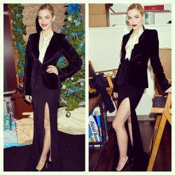 The gorgeous Jaime King in head-to-toe collection at the Critics' Choice Movie Award Nominations yesterday…obsessed.Get the look:Rachel Zoe Hutton JacketRachel Zoe Nathalie TopRachel Zoe Alia Maxi SkirtRachel Zoe Jesse Pumps