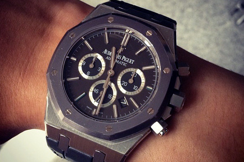 ambitionninspiration:  Wrist game proper… Audemar