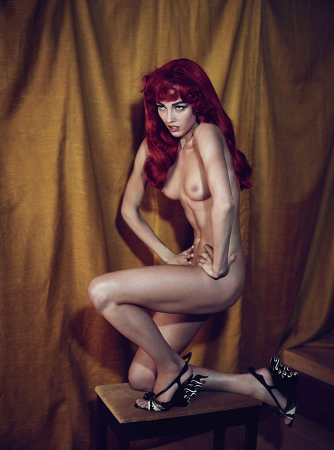pussylesqueer:  Karmen Pedaru: The Girly Show - W by Mert & Marcus, March 2012
