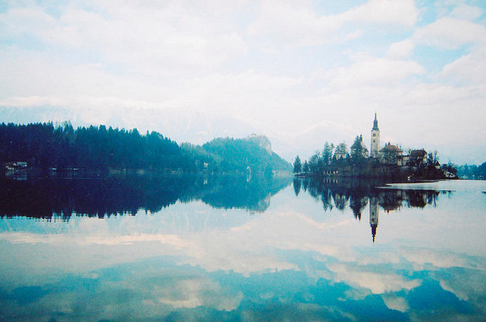 0rcinus:  lake bled by impossible soul on Flickr.