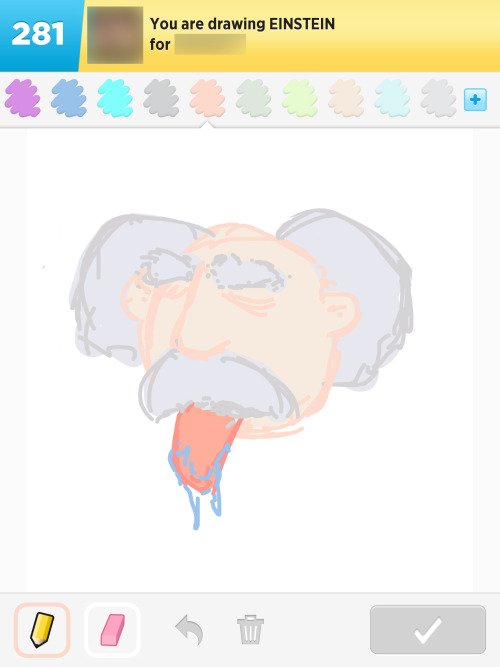 Draw Something 93, 2013 Word: Einstein