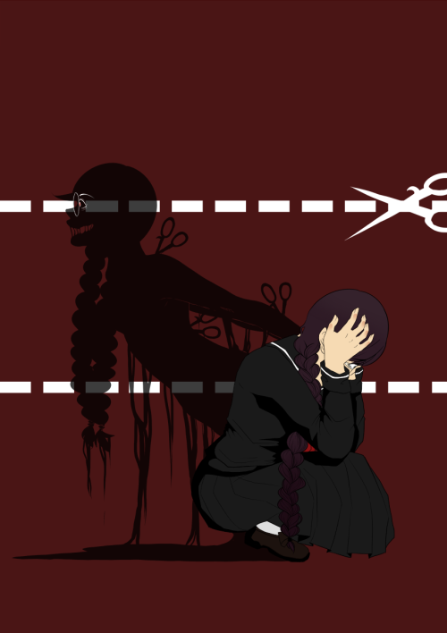 kawaiismutt:   you are your own worst enemy  weeps i rly love syo and fukawa o|-< may possibly make this a print if anyones interested