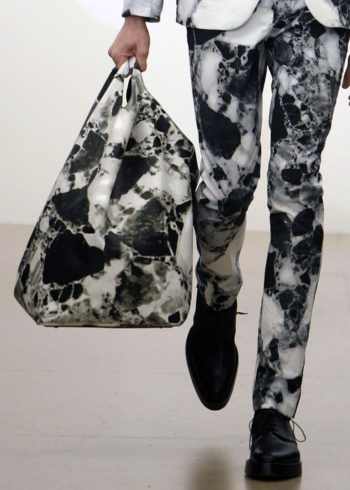 theclassyissue:  Jil Sander Marble Print Collection