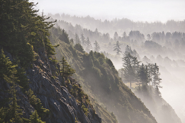 Layers of the Oregon Coast by benalesh1985 on Flickr.