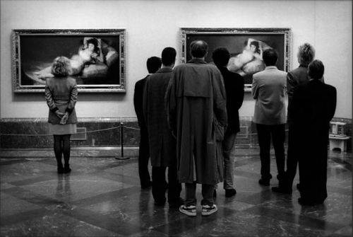 Elliott Erwitt, Museo del Prado, Madrid, Spain, 1995
