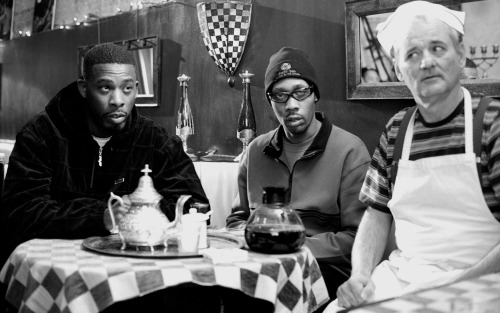 mackinnonnotwithstanding:  The RZA, The GZA & Bill Murray — Coffee & Cigarettes