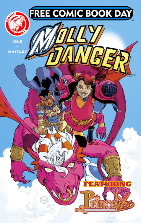 princelesscomic:  chucksuffel:  Molly Danger / Princeless Free Comic Book Day @Go_MollyDanger @ActionLab #FCBD View Post  Get excited!