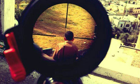 BOUNDARIES PUSHED: AN ISRAELI SOLDIER'S INSTAGRAM ACCOUNTby Steven Folkins http://bit.ly/YNqHri