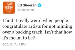 sheeran-usa:  He knows how it is