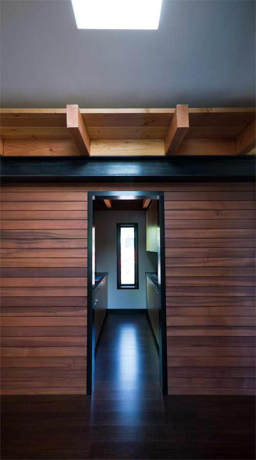 wabi treehouse | pantry entry ~ erich remash architect