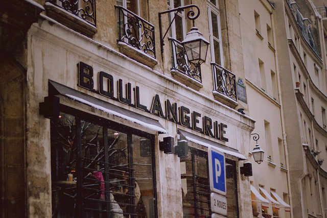 | ♕ |  Boulangerie in Paris  | by © voldy92 | via ysvoice