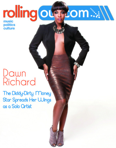 Dawn Richard for the latest issue of Rolling Out Magazine…