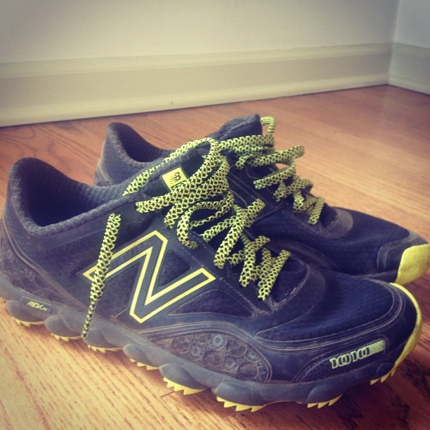 Awesome first run in my new NB Minimus 1010 Trail. Highly recommend for a minimal trail shoe.
