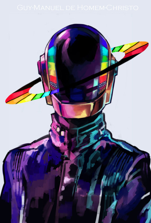 theworldisdaft:  http://browse.deviantart.com/art/Daft-Punk-360357061