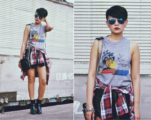 90s Revival (by Kookie B.)MORE DETAILS ON THE BRANDS I'M WEARING OVER AT:  http://deathbyplatforms.blogspot.com/2013/05/grunge-gasoline.html  Follow me on Instagram and Twitter: @kookiebuhain