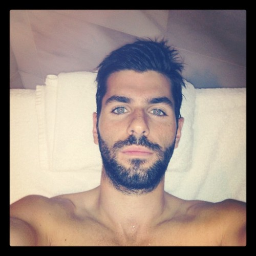 Jaime Alguersuari's Hipster Stubble is in danger of growing into a Serial Killer Beard. Don't be fooled by those eyes…