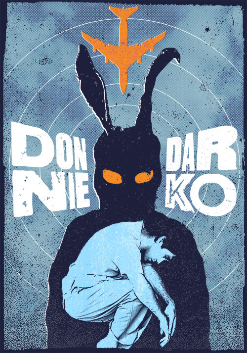 Donnie Darko alternative movie poster designed by Mike Langlie