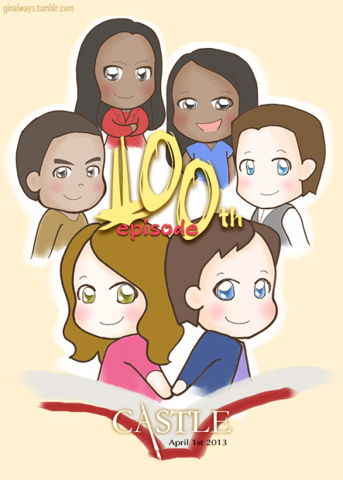 Congratulations! 100th episode of CASTLE    -Life changed since 'Flowers For Your Grave'- andHappy Birthday to Richard Castle!