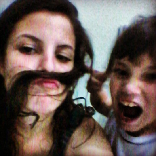 I have a #mustache !!! #brother #love #cute #funny