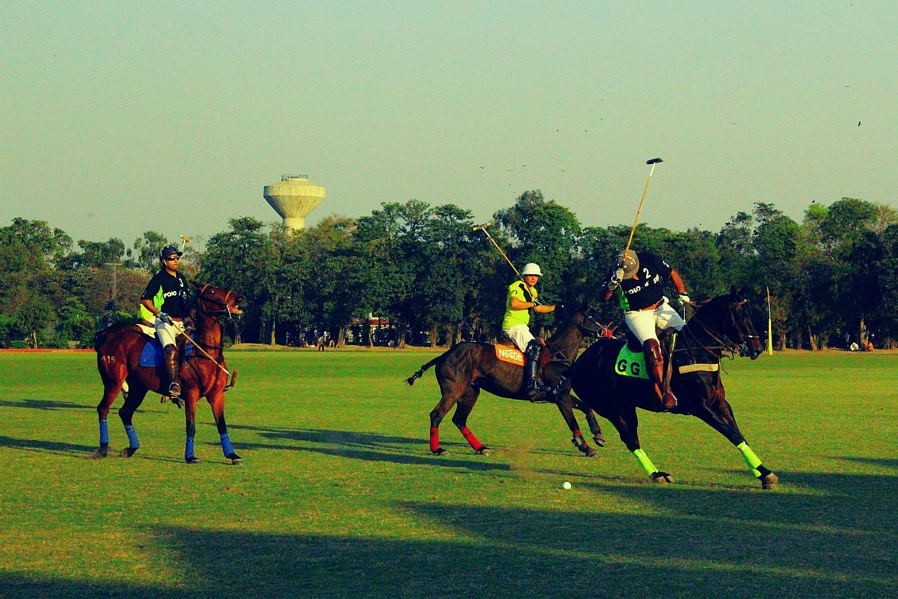 Polo in Lahore, Pakistan