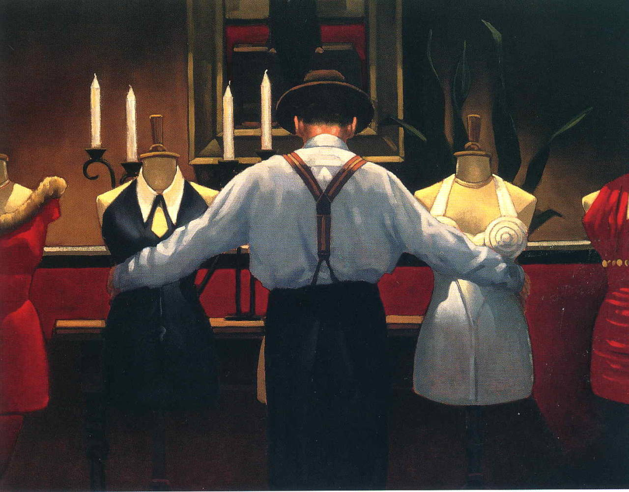 Jack Vettriano - A kind of Loving - { I need to live in a Vettriano's painting }