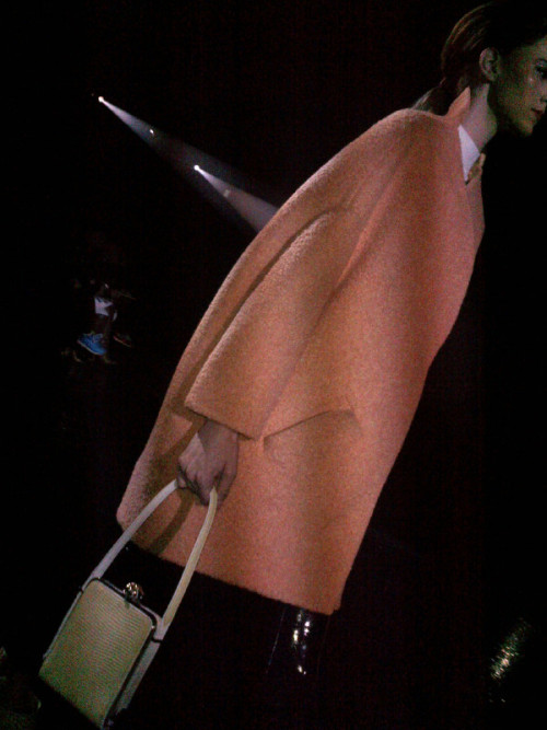 10magazine:  MUGLER: PARIS AW 20013  So Nicola and Sebastien got all inspired like by the bygone age and glamour of air travel - First class air travel of course. You know how much we like a flat bed at Ten Towers. Shame I never had the teeth to be a air line steward. By Antony Miles  Sent via BlackBerry® from BT