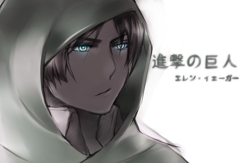 Eren from Shingeki no Kyojin. I draw it using Sai.