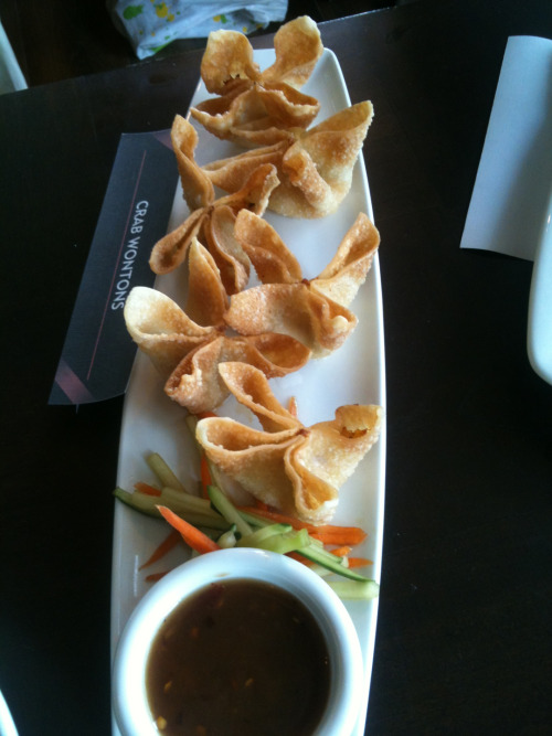 Crispy lobster cream cheese wantons from PF Chang's.