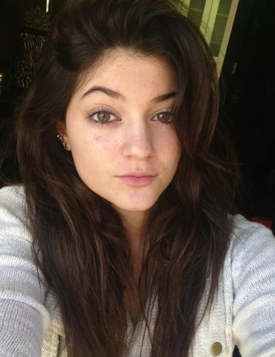 iloveherimperfections:  Kylie without face makeup ~