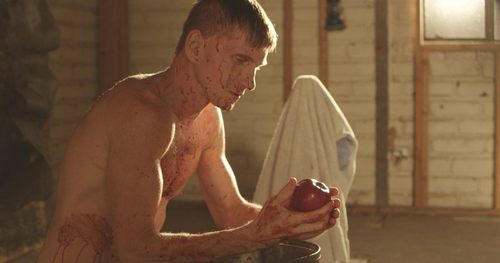 Bill Oberst Jr. screen capture from DITCH, a new horror film now in post-production. Official site: http://www.TheFilmDitch.com  Facebook:  https://www.facebook.com/TheFilmDitch