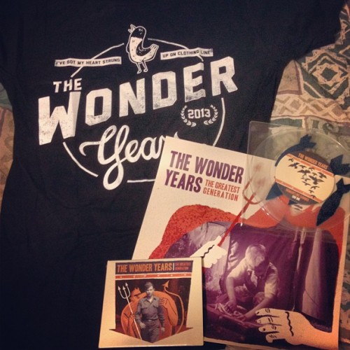 Got my preorder today! #thewonderyears #thegreatestgeneration