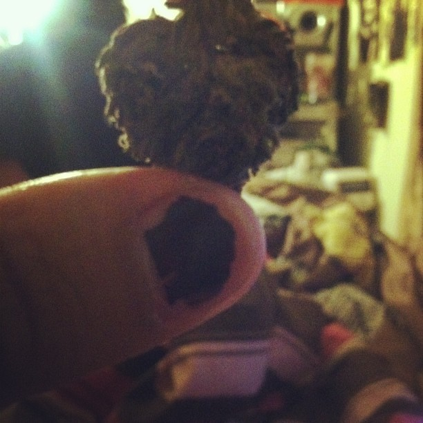 heart shaped bud. 🍁💛❤ #nug #weedlove #mynailsaregross #abouttosmokesomeweed