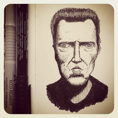 Christopher Walken #dailysketch