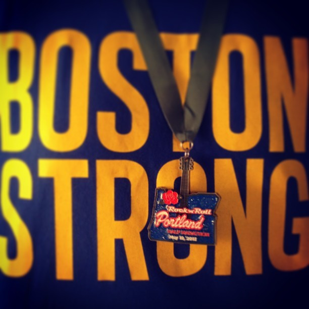 Boston Strong. Portland Fit. #RnRPDX